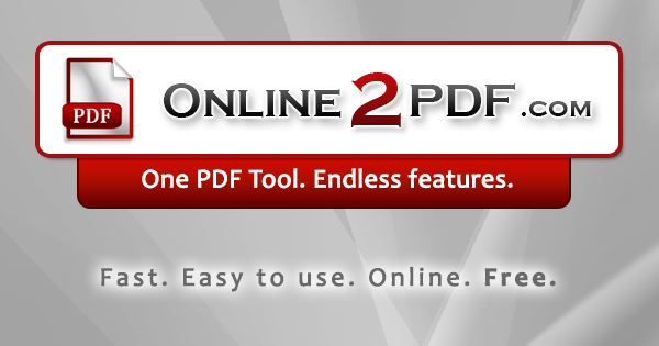 Convert Excel files ( xls,  xlsx) to PDF online & free