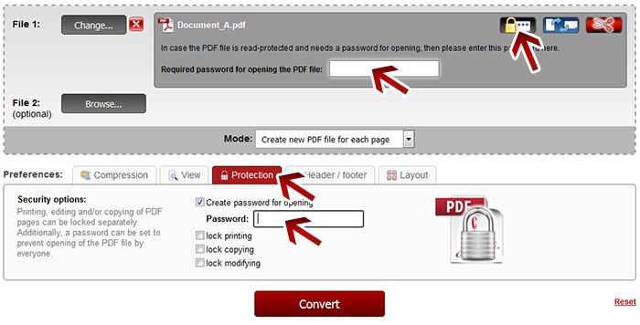 how to crack pdf file password online